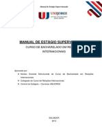 Manual de Estagio Supervisionado 2014