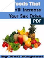 5 Foods That Will Increase Your Libido