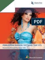 CF Brochure Fashion Industry