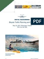 Bicycle Traffic Planning and Design Warszawa