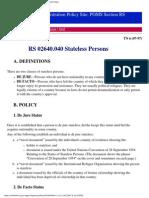 StatelessPerson POMS RS02640.040
