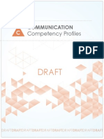 Communication Competency Profiles