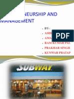 Business Enterpreneurship and Management