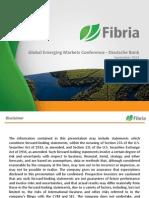 Global Emerging Markets Conference -Deutsche Bank