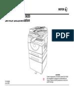 Xerox WC 5016 5020 Service Manua