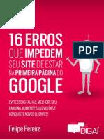 16 Erros de SEO Digai Felipe Pereira x