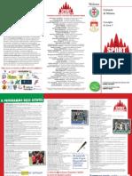 Sport Community Brochure