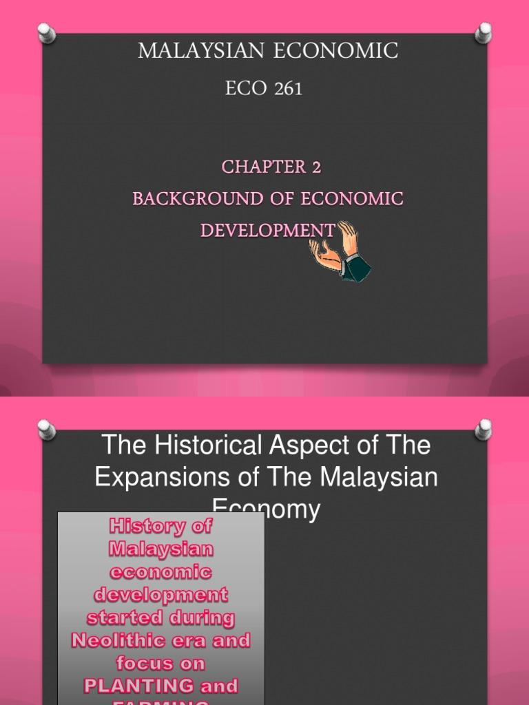 malaysian economy history