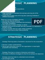 Strategic Planning 2003