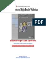 Breakthrough Sales Solution