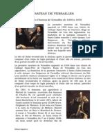 Referat.clopotel.ro-histoire Du Chateau de Versailles de 1038 a 1670