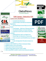 2nd September,2014 Daily Global Rice E-Newsletter by Riceplus Magazine