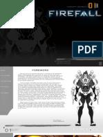 Firefall Concept Art Booklet