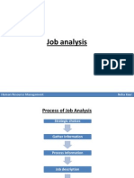 Job Analysis and Job Rotation