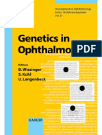 Genetics in Ophthalmology