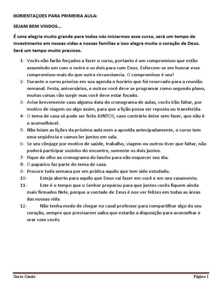 APOSTILA SEMPRE GRATIS CASADOS PARA DO BAIXAR CURSO