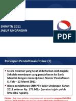 SNMPTN Jalur Undangan(Siswa)