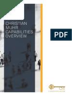 Christian Muhr Capabilites Brochure