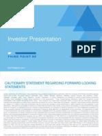 Third Point Reinsurance TPRE Investor Presentation Sept 2014 v001 n5w7gf