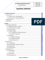 Fracturing Engineering Manual-Data FRAC Service