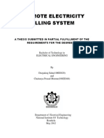 A Remote Electricity Billing System