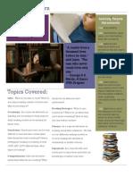 reading lab syllabus-newsletter