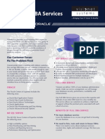 Visionet's Remote DBA Services - Remote Database Administration