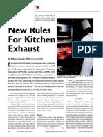 ASHRAE Journal Kitchen Exhaust