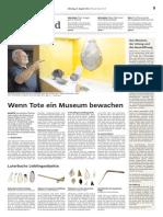 Eröffnung Archäologisches Museum Schötz Teil 2