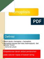 Hemoptisis Slide