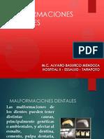 03. MALFORMACIONES DENTARIA
