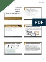 Operating Systems-Basics