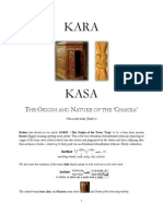 KARA-KASA the Origin and Nature of the Chakra