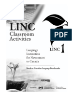 LINC 1 Classroom Activities