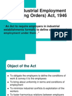 Standing Orders Act 1946