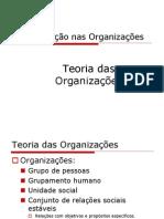 Teoria Das Organizacoes