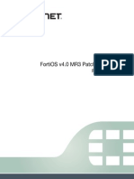 FortiOS v4.0 MR3 Patch Release 11 Release Notes