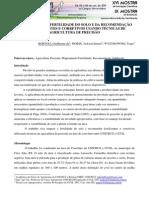 MAPEAMENTO DA FERTILIDADE DO SOLO E DA RECOMENDAÇÃO DE FERTILIZANTES E CORRETIVOS USANDO TÉCNICAS.pdf