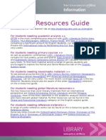 English Resources Guide