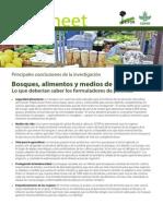 Bosques, alimentos y medios de vida