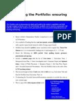 portfolio guide