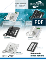 KX-T7700 Series System Telephones