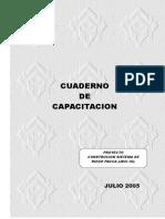 (1) Cuaderno de Capacitación