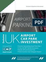 Airport Car Park Brochure
