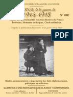Journal de La Grande Guerre Numéro 1