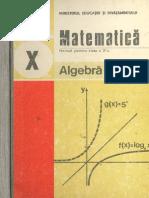 Manual - Matematica - Clasa a X-A
