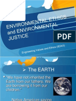 Environmental Ethics and Justice