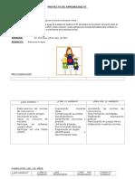 Proyecto de Aprendizaje Educ Inicial 4