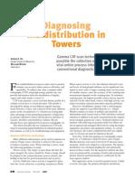 Process Distillation Tower Diagnostics