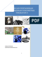 Manual Psikometrik Ting 3